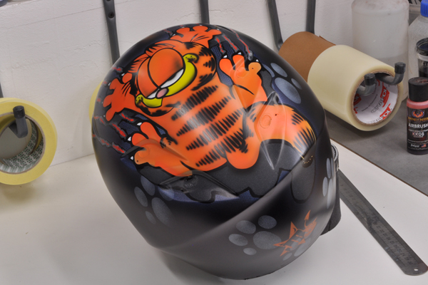 Shoei XR 1100 Garfield